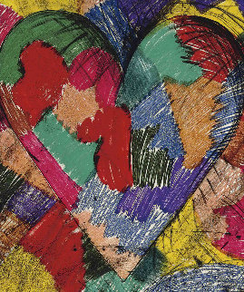 Heart Called Paris Spring, 1982 Limited Edition Print by Jim Dine