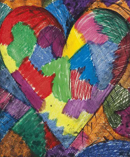 A Beautiful Heart, 1996 Limited Edition Print by Jim Dine