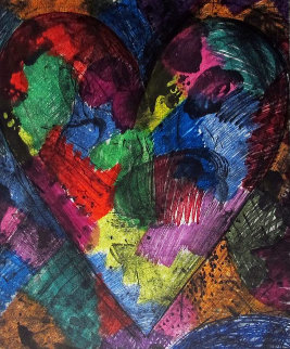 A Heart Called Washington AP 2014 Limited Edition Print - Jim Dine