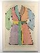 Woodcut Bathrobe AP 1975 Limited Edition Print by Jim Dine - 1