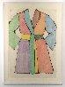 Woodcut Bathrobe AP 1975 Limited Edition Print by Jim Dine - 1