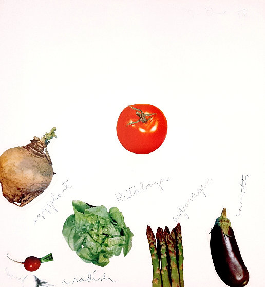 Plate III: Vegetables Suite 1970 Limited Edition Print by Jim Dine