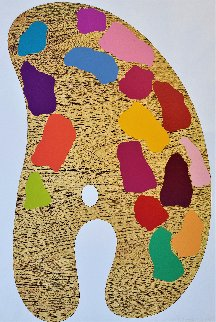 Four Palattes No. 1 1969 Limited Edition Print by Jim Dine