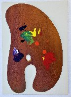 Four Palattes No. 4 1969  Limited Edition Print by Jim Dine - 1