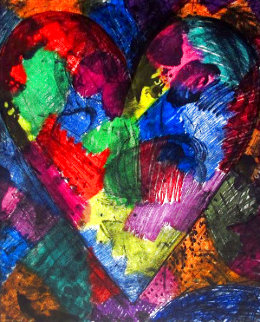 Heart Called Washington 2014 Limited Edition Print - Jim Dine