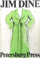 Green Robe Exhibition Poster, Petersburg Press 1971 HS Limited Edition Print by Jim Dine - 1