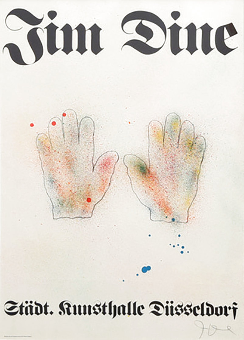 Hands 1971 HS (Early) Limited Edition Print by Jim Dine