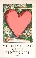 Heart At the Opera Poster HS 1983 HS Limited Edition Print by Jim Dine - 1