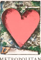 Heart At the Opera Poster HS 1983 HS Limited Edition Print by Jim Dine - 2
