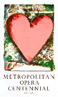 Heart At the Opera Poster HS 1983 HS Limited Edition Print by Jim Dine - 0