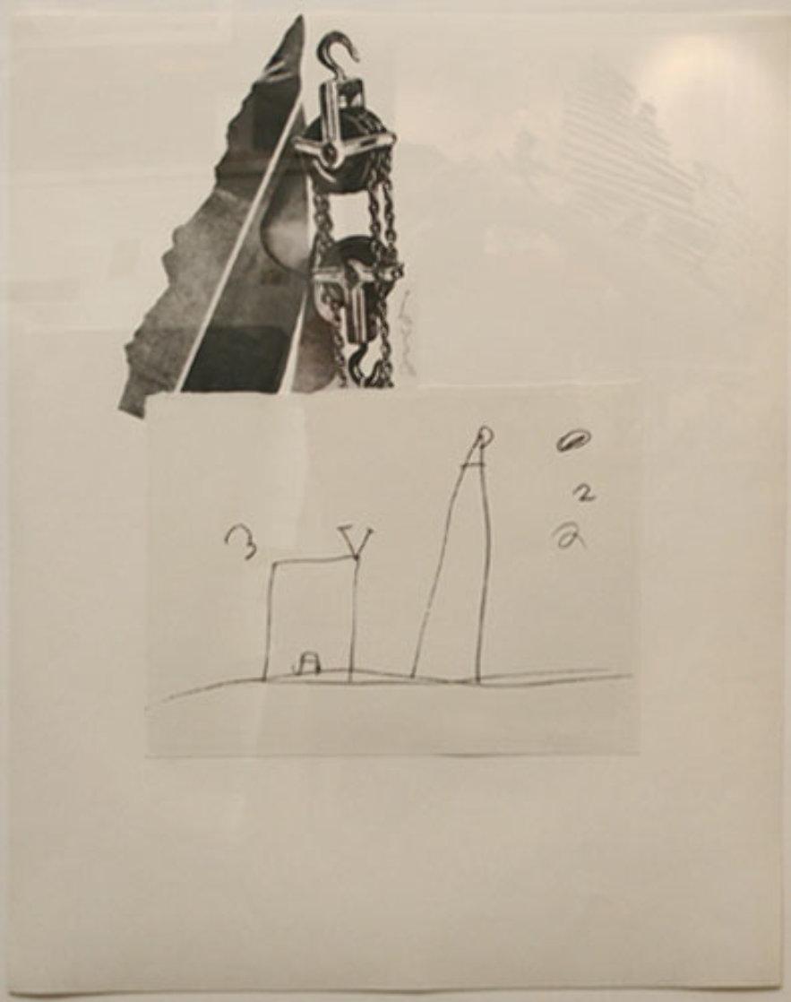Tool Box V 1966 Limited Edition Print by Jim Dine