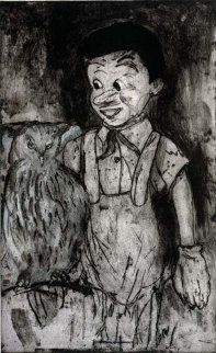 Boy and Owl 2000 (Pinocchio) Limited Edition Print by Jim Dine