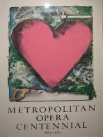 A Heart At the Opera Poster HS 1983 Limited Edition Print by Jim Dine - 3