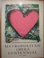 A Heart At the Opera Poster HS 1983 Limited Edition Print by Jim Dine - 2