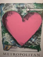 A Heart At the Opera Poster HS 1983 Limited Edition Print by Jim Dine - 1