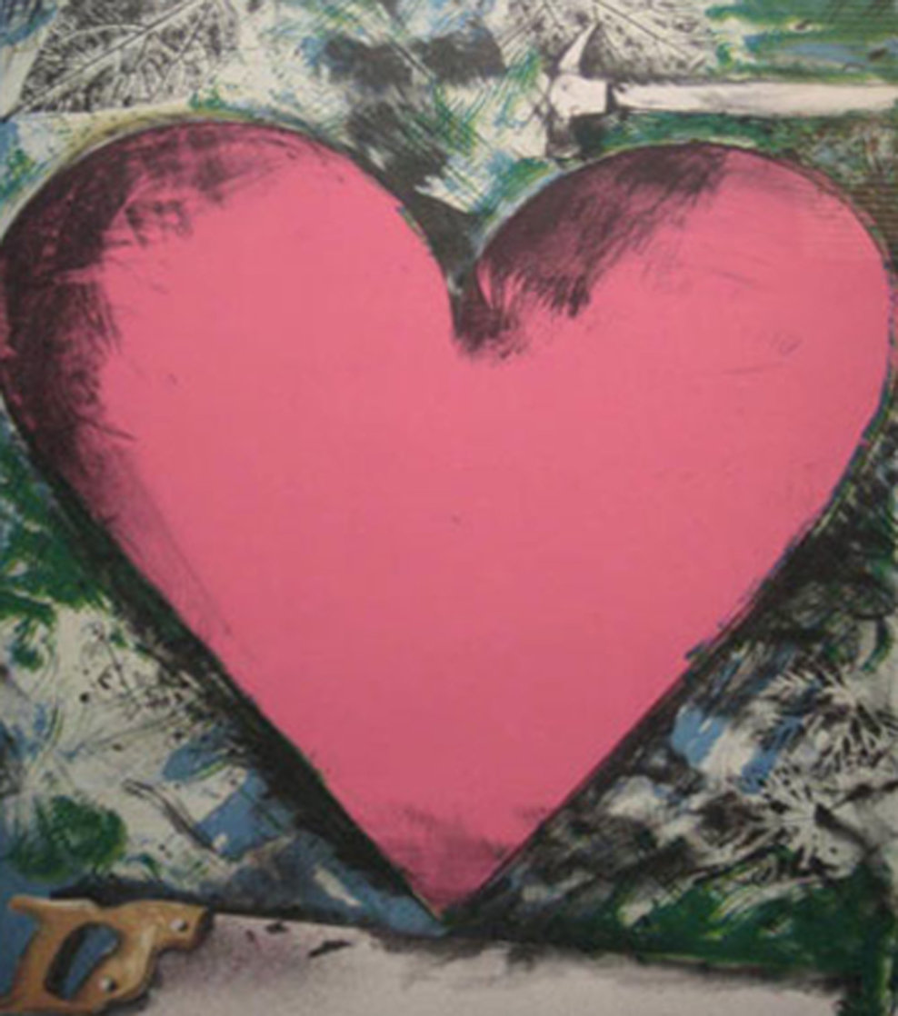 A Heart At the Opera Poster HS 1983 Limited Edition Print by Jim Dine