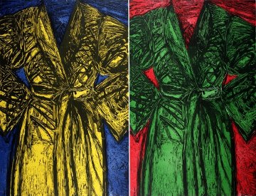 Kindergarten Robes, 1983 Limited Edition Print - Jim Dine