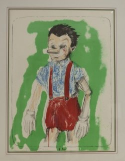 Pinnochio Coming From the Green 2011 Limited Edition Print - Jim Dine