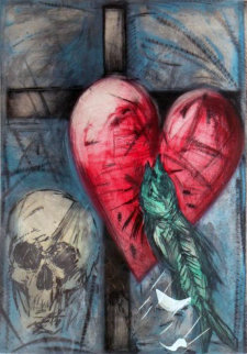 Garrity Necklace 1986 Limited Edition Print - Jim Dine
