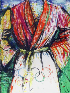 Olympic Robe 1988 Limited Edition Print by Jim Dine