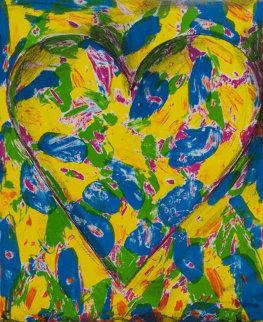 Blue Heart 2005 Limited Edition Print - Jim Dine