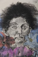 Nancy Outside in July #6, Flowers of the Holy Land 1979 Limited Edition Print by Jim Dine - 1