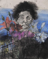 Nancy Outside in July #6, Flowers of the Holy Land 1979 Limited Edition Print by Jim Dine - 0