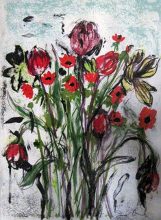 Anemones 2005 Limited Edition Print by Jim Dine