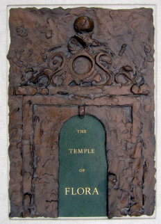 Temple of Flora, 28 Etchings, With Signed Book, Signed Graphic, and Bronze 1985 Limited Edition Print - Jim Dine