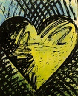 A Sunny Woodcut 1982 Limited Edition Print by Jim Dine