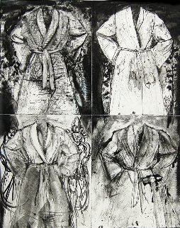 Blue Wash 1991 66x50 Limited Edition Print by Jim Dine