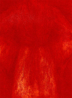 Sitting with Me Red 1996 58x42 #1 in edition Huge Limited Edition Print - Jim Dine