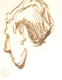 Portrait Drawing Drawing - Maynard Dixon