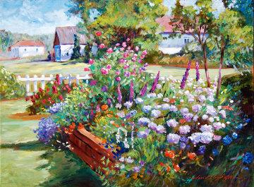 Rheinbeck Summer 18x24 Original Painting by David Lloyd Glover