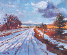 Storm Passing 2013 20x24 Original Painting by David Lloyd Glover - 1