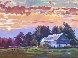 Days End Original Painting by David Lloyd Glover - 1