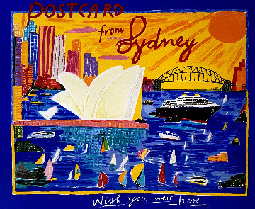 Postcard From Sydney 2003 Limited Edition Print - Ken Done
