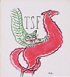 Les Plus Beaux Contes De Kipling 1949 Limited Edition Print - Kees Van Dongen