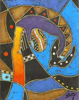 Over and Out Original Painting by Neal Doty