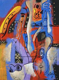 Sneek Preview Original Painting - Neal Doty