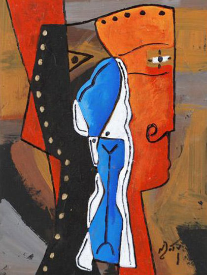 Connection Original Painting by Neal Doty