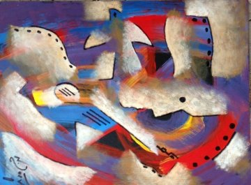 Good News 2010 12x9 Original Painting by Neal Doty