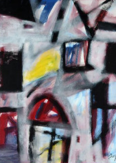 What's Next 2013 40x32 Original Painting - Neal Doty