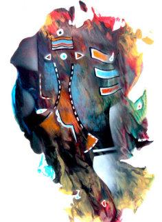 Smugh 2014 Original Painting - Neal Doty