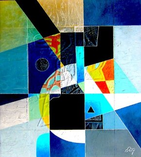 Blue Moon 2014 Limited Edition Print by Neal Doty
