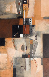Post-Cubist Guitar II 2002 Limited Edition Print - Neal Doty