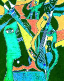 Mingus Amongus 2015 Limited Edition Print by Neal Doty