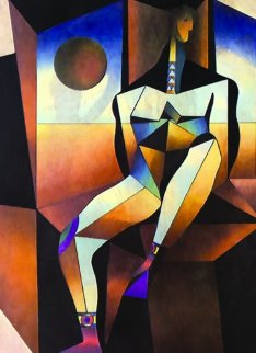 Architectonic Man 1973 Limited Edition Print by Neal Doty
