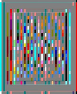 Mondrianic 2015 Limited Edition Print by Neal Doty