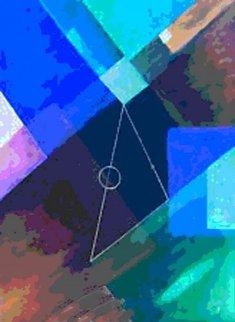 Triangular Buzz 2015 Limited Edition Print by Neal Doty